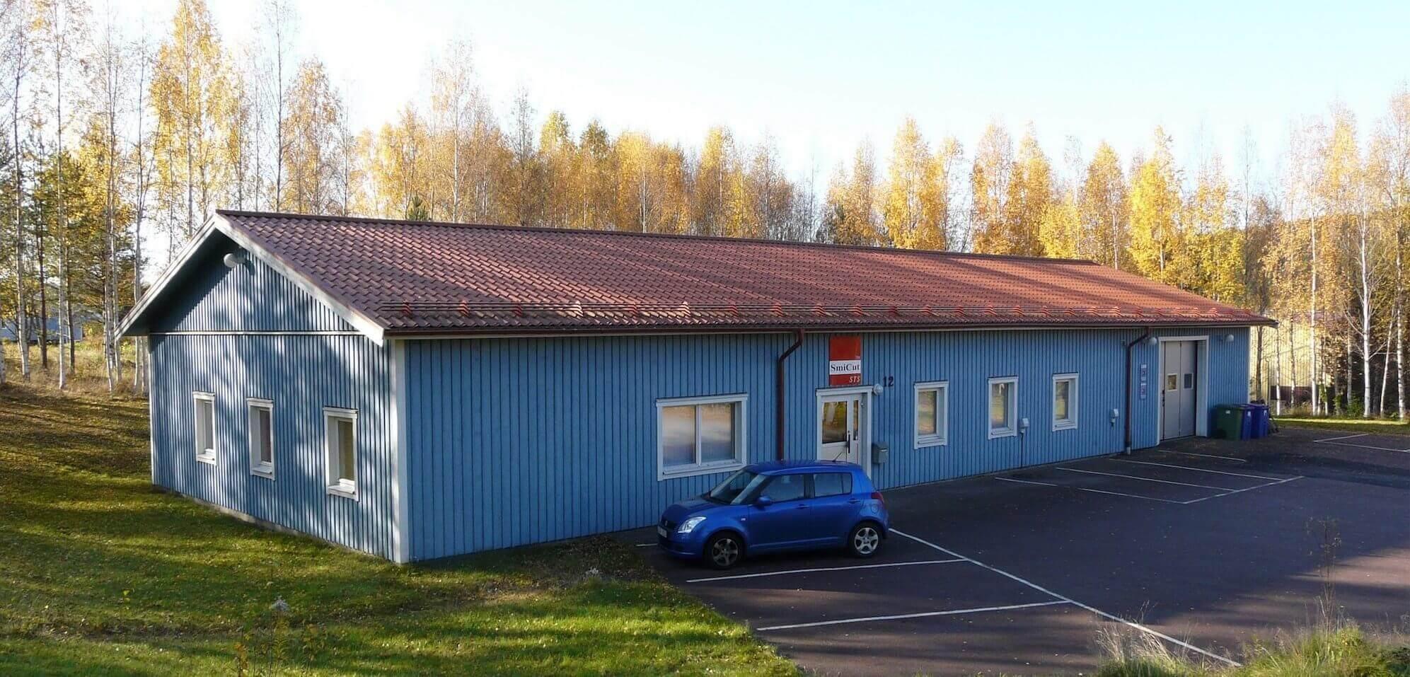 SmiCut kontor och produktion i Ludvika.