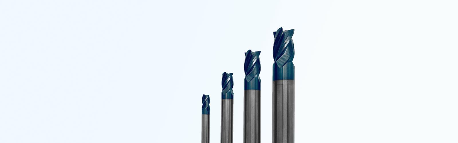 Korta dimensioner av LC hårdmetallfräsar